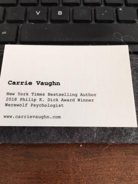 business card brag